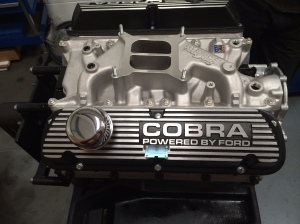 Shows the Edelbrook 289 performance intake